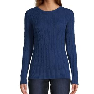 St. John's Bay Crew Neck Long Sleeve Sweater